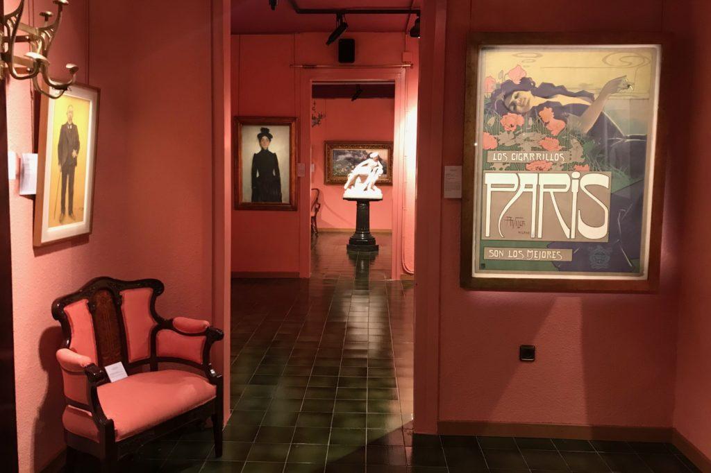 L'exposició 'Barcelona i els Quatre Gats' de la Galeria Gothsland | Foto: Galeria Gothsland