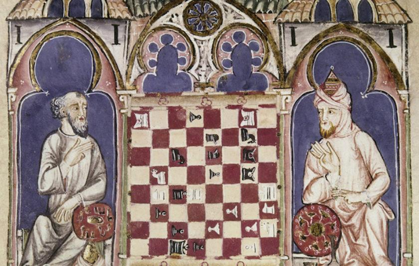Alfons X llança el dau