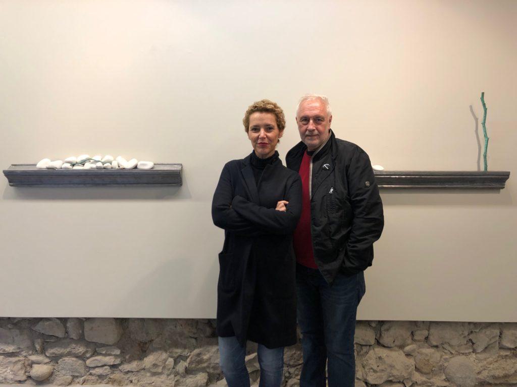 Natàlia Chocarro i Mario Pasqualotto a la Vila Casas   Foto: Fundació Vila Casas