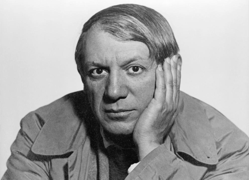 Pablo Picasso, 1934 |Foto: Man Ray