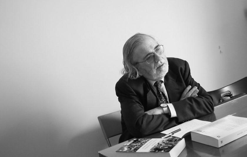 """Agustí Pons: """"Els periodistes som el nostre propi xassís"""""""