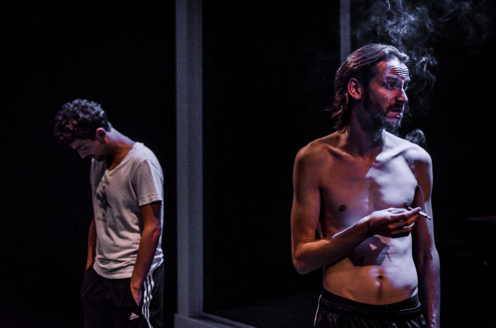 Sergi Torrecilla i Albert Prat en una escena de 'Cúbit'. © Justin P. Brown