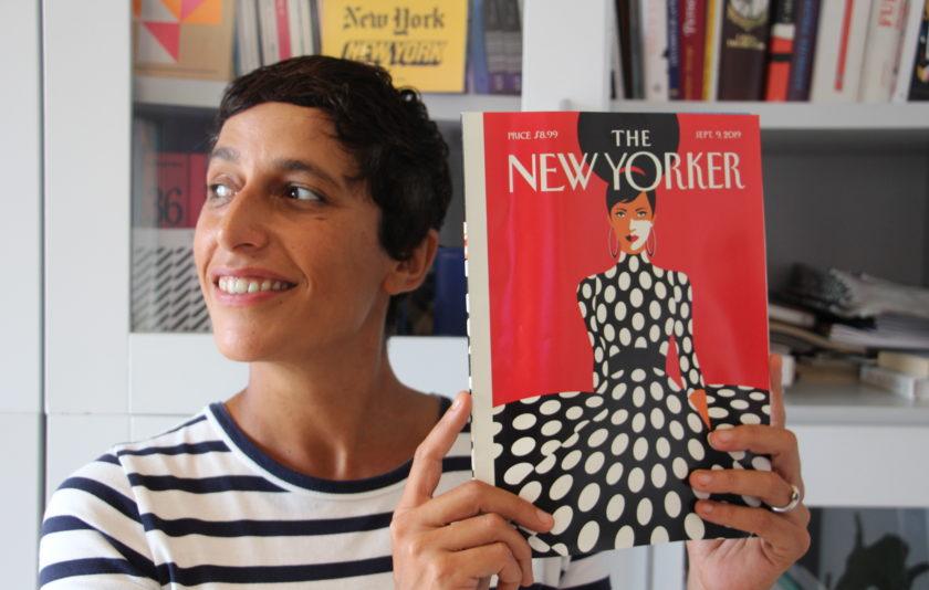 "Malika Favre: ""Si no hagués estat il·lustradora, seria matemàtica"""