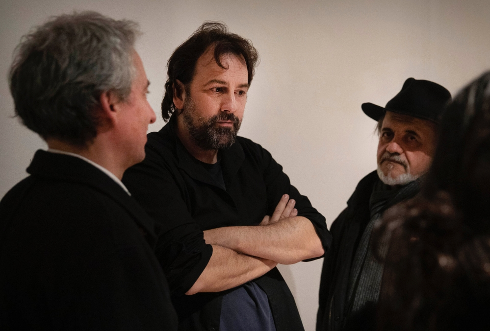 Isaki Lacuesta a la inauguració del projecte 'Jo sóc allò prohibit' d'Isaki Lacuesta |Foto: Jordi Play