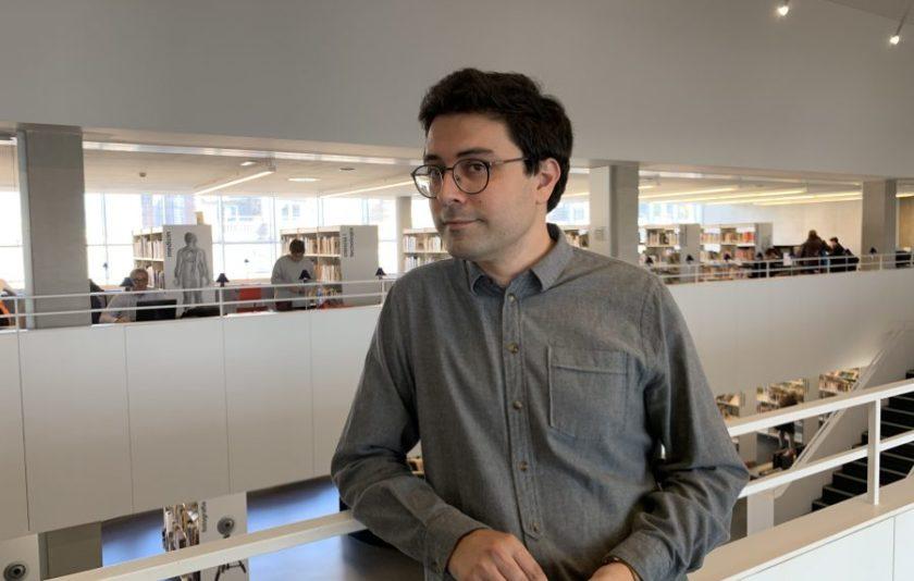 """Jordi Nopca: """"Escric perquè no estic bé"""""""
