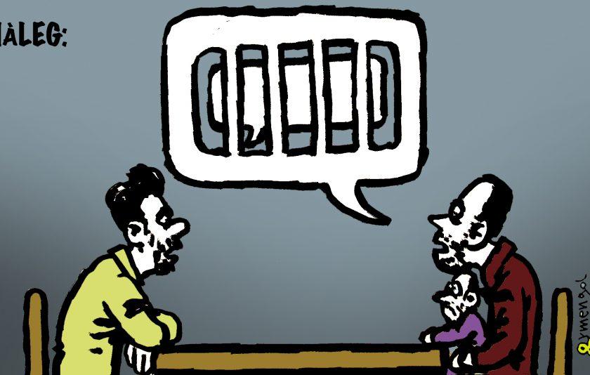 Diàleg, descripció gràfica