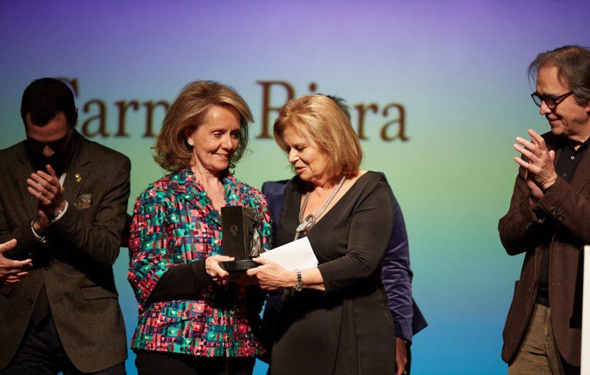 Carme Riera rep el Premi Atlàntida 2019