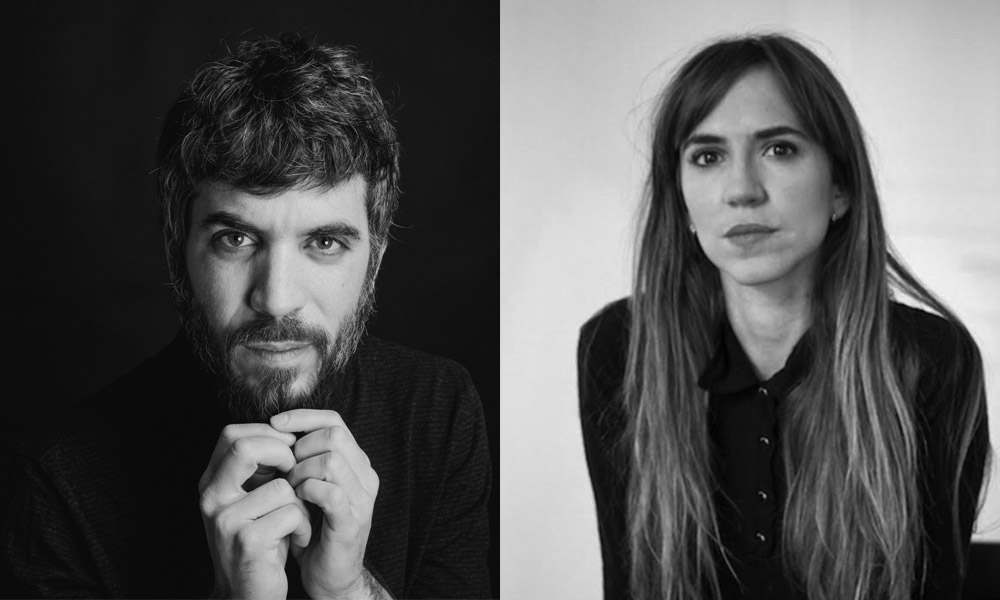Jordi Oriol i Aina Clotet han llegit 'Poemes i mirlitonades' a la Sala Beckett.